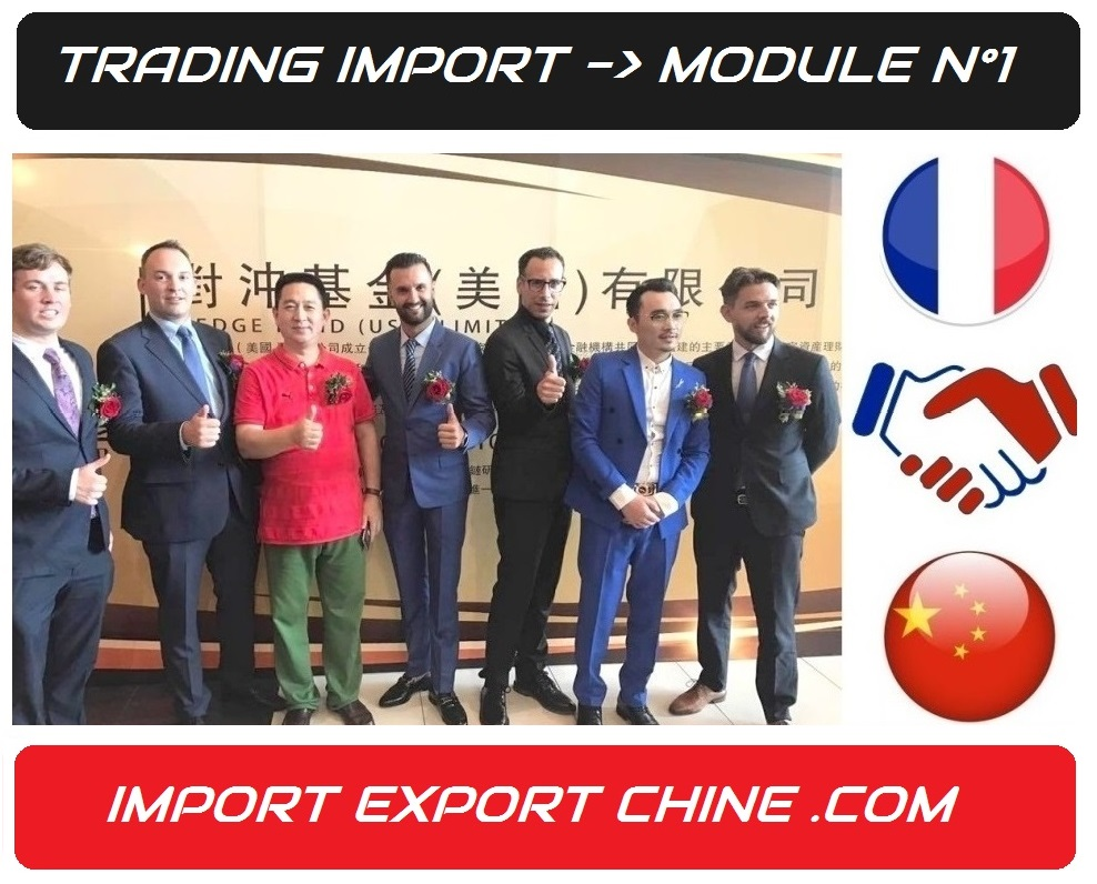 importer de chine formation trading import export chine