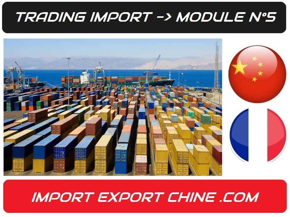 importation container france import export chine