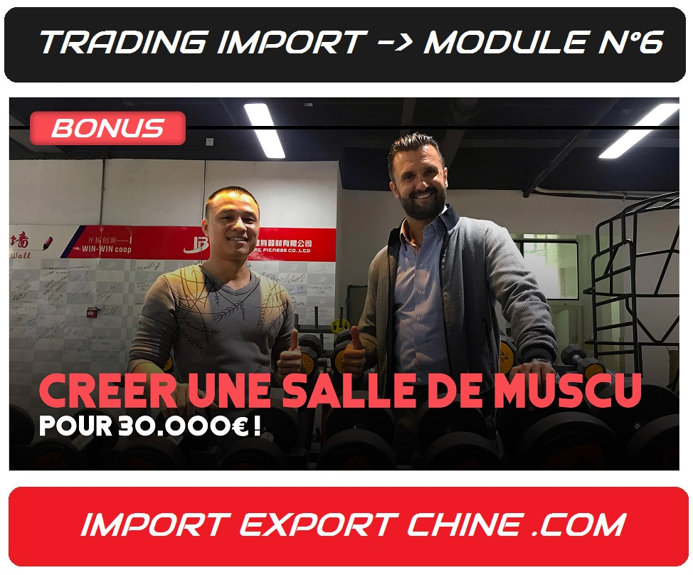trading import comment importer materiel musculation import export chine
