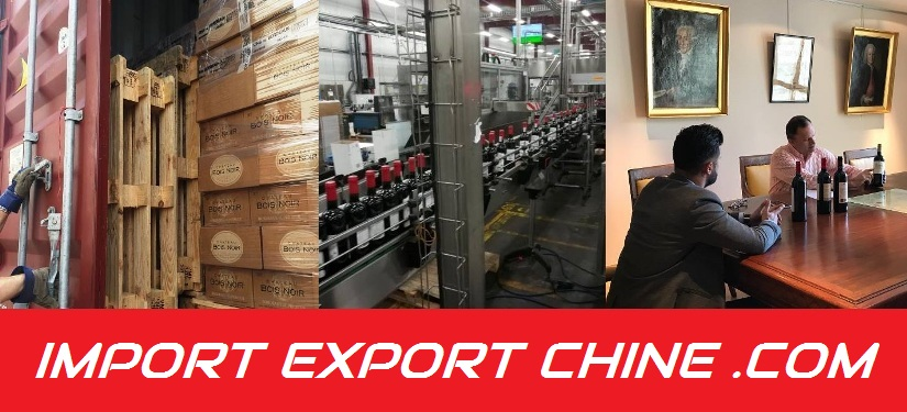 comment exporter vin chine
